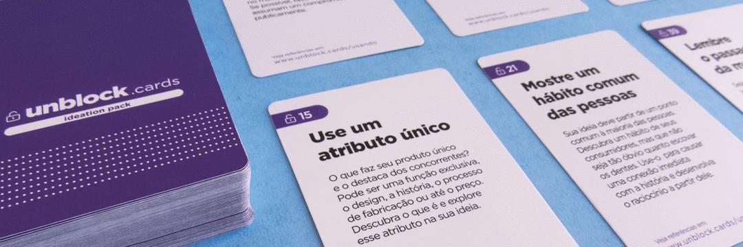 Diretor de Arte cria o primeiro baralho de brainstorm brasileiro