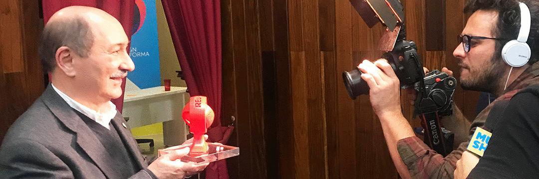 Ícone da propaganda paranaense recebe homenagem na Red Week Ideas 2018