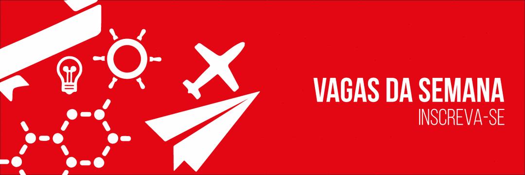 VAGAS DE 12 A 16 DE NOVEMBRO